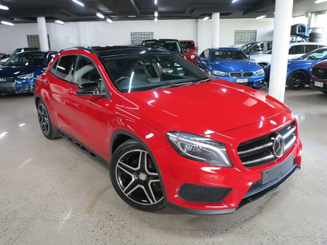 Used Mercedes-Benz GLA-Class X156 806MY GLA250 DCT 4MATIC Albion, 2015 Mercedes-Benz GLA-Class X156 806MY GLA250 DCT 4MATIC Red 7 Speed Sports Automatic Dual Clutch
