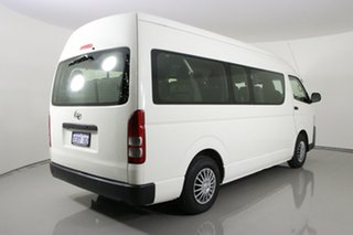 2014 Toyota HiAce KDH223R MY12 Upgrade Commuter White 4 Speed Automatic Bus