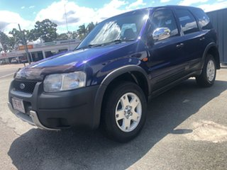2004 Ford Escape ZB XLS Blue 4 Speed Automatic SUV