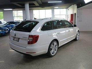 2014 Skoda Superb 3T MY15 Elegance DSG 118TSI White 7 Speed Sports Automatic Dual Clutch Wagon