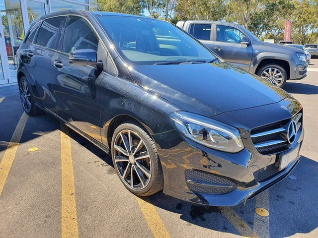 Used Mercedes-Benz B-Class W246 807MY B200 DCT Epsom, 2016 Mercedes-Benz B-Class W246 807MY B200 DCT Black 7 Speed Sports Automatic Dual Clutch Hatchback