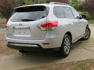 2015 Nissan Pathfinder R52 MY15 ST X-tronic 2WD Silver 1 Speed Constant Variable Wagon