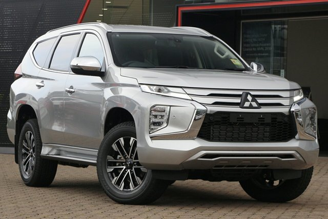 New Mitsubishi Pajero Sport QF MY21 Exceed Gladstone, 2021 Mitsubishi Pajero Sport QF MY21 Exceed Sterling Silver 8 Speed Sports Automatic Wagon