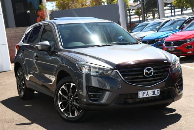 Used Mazda CX-5 Port Melbourne, 2016 Mazda CX-5 Grand Touring Grey 6 Speed Automatic Wagon