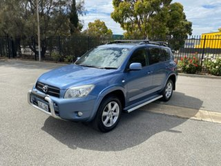 2006 Toyota RAV4 ACA33R Cruiser Blue 4 Speed Automatic Wagon.
