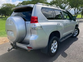 2012 Toyota Landcruiser Prado KDJ150R GXL Silver Pearl 6 Speed Manual Wagon