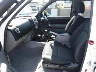 2010 Mazda BT-50 B3000 White 5 Speed Manual Dual Cab