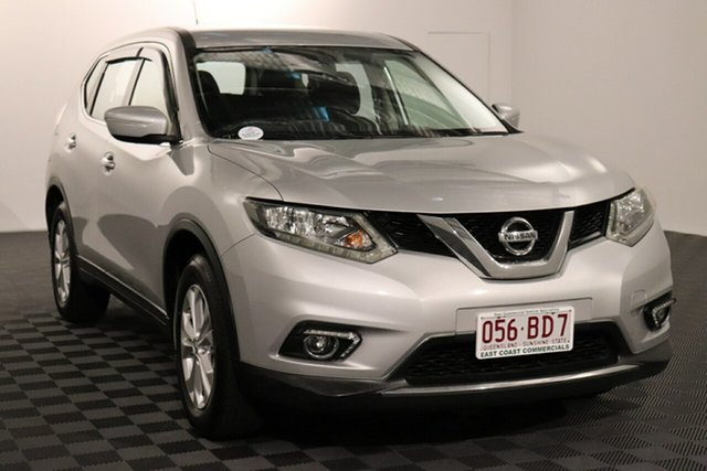 Used Nissan X-Trail T32 ST X-tronic 2WD Acacia Ridge, 2015 Nissan X-Trail T32 ST X-tronic 2WD Silver 7 speed Automatic Wagon
