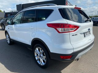 2013 Ford Kuga TE Trend AWD White 5 Speed Sports Automatic Wagon