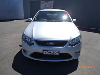 2011 Ford Falcon FG MK2 XR6 Silver Metallic 6 Speed Auto Seq Sportshift Sedan.