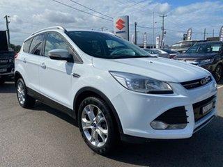 2013 Ford Kuga TE Trend AWD White 5 Speed Sports Automatic Wagon.