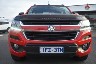 2017 Holden Colorado RG MY18 Z71 Pickup Crew Cab Red/Black 6 Speed Sports Automatic Utility