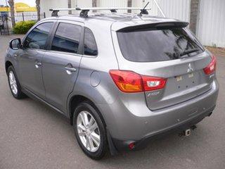 2012 Mitsubishi ASX XB MY13 Aspire 2WD Grey 5 Speed Manual Wagon.