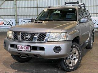 2005 Nissan Patrol GU IV MY05 ST-S Silver 4 Speed Automatic Wagon.