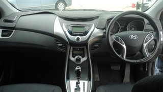 2011 Hyundai Elantra MD Elite Blue 6 Speed Sports Automatic Sedan.