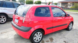 2007 Hyundai Getz TB MY06 Red 5 Speed Manual Hatchback.