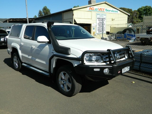 Pre-Owned Volkswagen Amarok 2H MY18 V6 TDI 550 Core Wellington, 2018 Volkswagen Amarok 2H MY18 V6 TDI 550 Core 8 Speed Automatic Dual Cab Utility