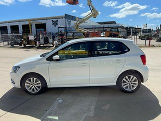 2017 Volkswagen Polo 6R MY17 81TSI DSG Comfortline White/060417 7 Speed Sports Automatic Dual Clutch