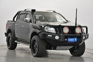 2017 Nissan Navara D23 S2 ST-X N-SPORT Black Edition Black 7 Speed Sports Automatic Utility.
