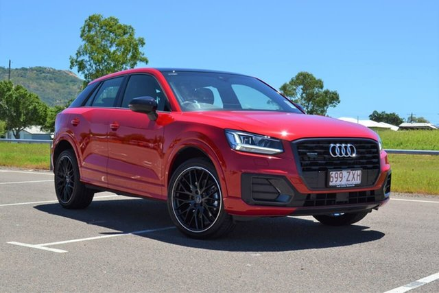 Demo Audi Q2 GA MY20 40 TFSI S Tronic Quattro Edition #2 Mundingburra, 2020 Audi Q2 GA MY20 40 TFSI S Tronic Quattro Edition #2 Red 7 Speed Sports Automatic Dual Clutch