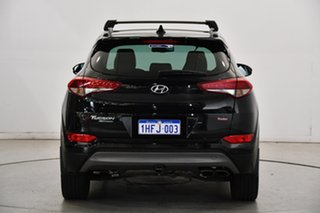 2016 Hyundai Tucson TLE Highlander D-CT AWD Black 7 Speed Sports Automatic Dual Clutch Wagon