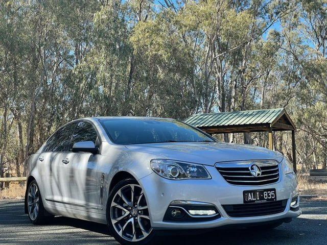 Used Holden Calais VF II MY16 V Echuca, 2016 Holden Calais VF II MY16 V Silver 6 Speed Sports Automatic Sedan