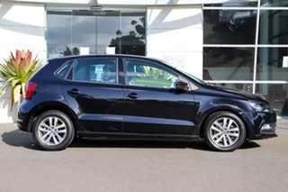 2015 Volkswagen Polo 6R MY15 81TSI DSG Comfortline Black 7 Speed Sports Automatic Dual Clutch.