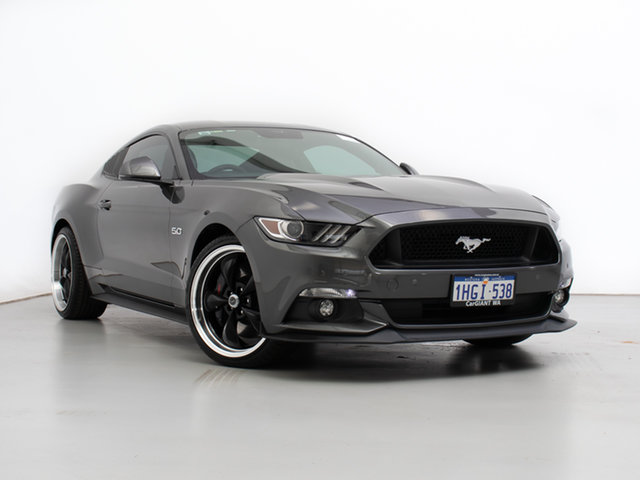 Used Ford Mustang FM MY17 Fastback GT 5.0 V8, 2017 Ford Mustang FM MY17 Fastback GT 5.0 V8 Grey 6 Speed Automatic Coupe