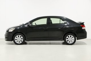 2015 Toyota Yaris NCP93R 10 Upgrade YRX Black 4 Speed Automatic Sedan