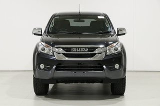 2015 Isuzu MU-X UC MY15 LS-U (4x4) Black 5 Speed Manual Wagon.