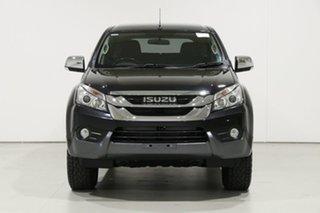 2015 Isuzu MU-X UC MY15 LS-U (4x4) Black 5 Speed Manual Wagon.