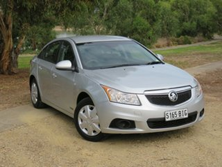 2012 Holden Cruze JH Series II MY13 CD Silver 6 Speed Sports Automatic Sedan.