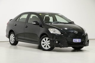 2015 Toyota Yaris NCP93R 10 Upgrade YRX Black 4 Speed Automatic Sedan.