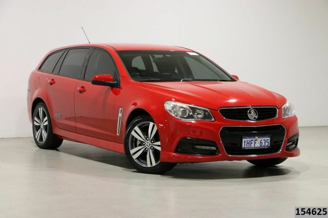 Used Holden Commodore VF SS Bentley, 2013 Holden Commodore VF SS Red 6 Speed Automatic Sportswagon