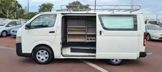 2008 Toyota HiAce KDH201R MY08 LWB White 5 Speed Manual Van