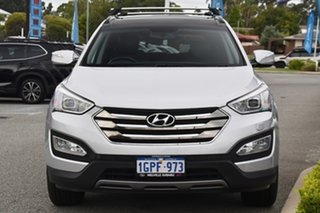 2012 Hyundai Santa Fe DM MY13 Highlander Silver 6 Speed Sports Automatic Wagon