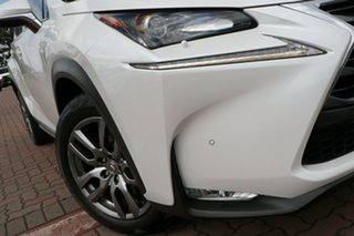 2015 Lexus NX AGZ15R NX200t AWD Luxury White 6 Speed Sports Automatic SUV.