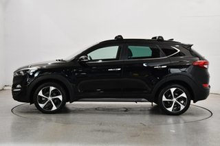 2016 Hyundai Tucson TLE Highlander D-CT AWD Black 7 Speed Sports Automatic Dual Clutch Wagon.