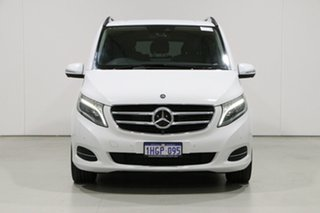 2016 Mercedes-Benz V250d 447 Avantgarde MWB White 7 Speed Automatic Wagon.