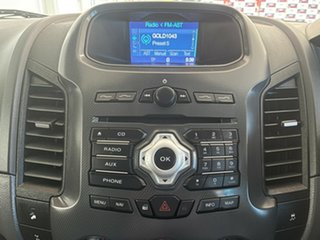 2012 Ford Ranger PX Wildtrak Double Cab Silver, Chrome 6 Speed Sports Automatic Utility