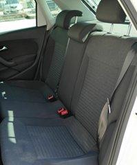 2013 Volkswagen Polo 6R MY14 77TSI Comfortline White 6 Speed Manual Hatchback
