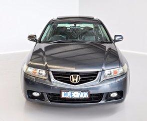 2005 Honda Accord Euro CL Luxury Grey 5 Speed Automatic Sedan.