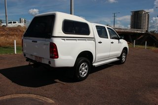 2007 Toyota Hilux KUN26R MY07 SR Glacier White 5 Speed Manual Utility