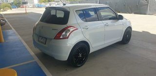 2014 Suzuki Swift FZ MY14 GL White 4 Speed Automatic Hatchback.
