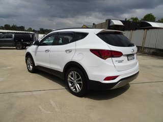 2015 Hyundai Santa Fe DM3 MY16 Highlander White 6 Speed Automatic Wagon.