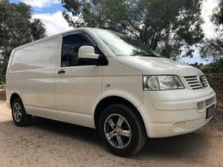 2008 Volkswagen Transporter T5 MY08 Low Roof White 5 Speed Manual Van.