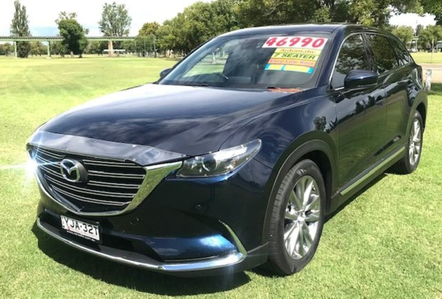 Used Mazda CX-9 TC GT SKYACTIV-Drive Tamworth, 2017 Mazda CX-9 TC GT SKYACTIV-Drive Blue 6 Speed Sports Automatic Wagon