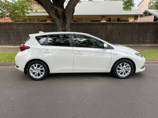 2018 Toyota Corolla ZWE186R Hybrid E-CVT White 1 Speed Constant Variable Hatchback Hybrid