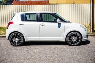 2010 Suzuki Swift RS415 S White 5 Speed Manual Hatchback.