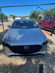 2021 Mazda 3 G20 Evolve  Silver 6 Speed Automatic Hatchback.